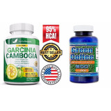Garcinia Cambogia 3000mg 95 Hca Y Pure Green Coffee 1600mg