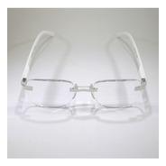 Óculos De Leitura Com Grau Armação Tunnel Branco