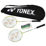 Raqueta Badminton Nue Boss Paquete Para 2 Jugadores