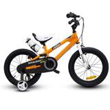 Bicicleta Niño Aro 16 Royal Baby Naranjo