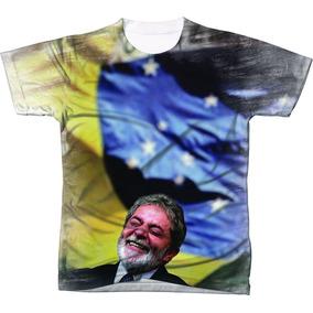 Camiseta Camisa Luiz Inácio Lula Da Silva Presidente