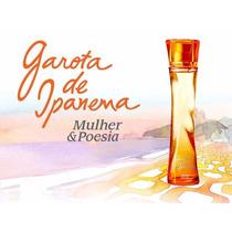 Avon Garota De Ipanema Colônia Desodorante Mulher E Poesia