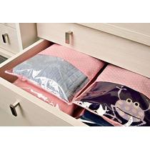 Saco P/ Blusa E Sapatos Tnt C/visor Plástico-kit C/50u.41x60