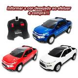 Carrinho De Controle Remoto Fiat Toro 1/18
