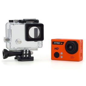 Camera Esportiva Hd Atrio + Bastao + Kit