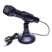 Micrófono Con Soporte Para Pc Nm-mc2 - Ideal Youtubers