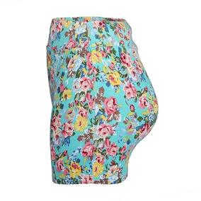 Minifalda Floreada Verano Tallas 7 Y 9 Corta Sexy