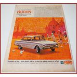 Dante42 Publicidad Antigua Retro Auto Ford Falcon 1961