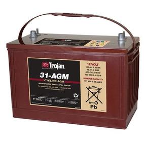 Bateria Trojan 31 Agm 12 Voltios 100 Amperios Battery Master