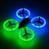 Rctown Jxd 398 Iluminación Quadcopter Rc 24 Ghz 4 Ca - Rojo