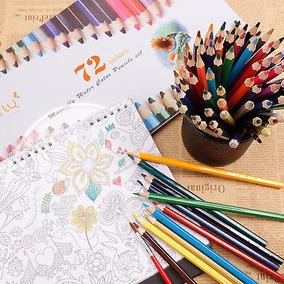 72pcs Niños Agua Soluble De Color Para Dibujo Pintura Dibujo