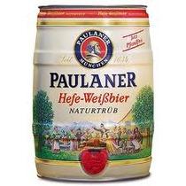 Cerveja Paulaner Hefe-weiss Barrilete 5 Litros