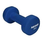 Mancuerna De Neoprene 3 Kg Merco Pesas Original Fitnes Gym