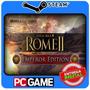 Total War: Rome Ii - Emperor Edition Steam Cd-key Global