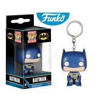 Llavero Batman Ojos Blancos Dc Comics Funko Pop Serie Batman