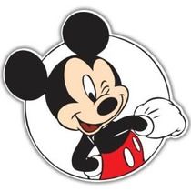 Mickey Mouse Guiño Vynil Car Sticker Decal - Seleccione Tama