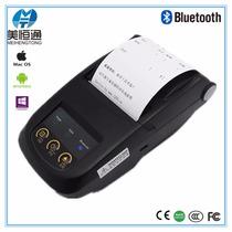 Mini Impressora Térmica Portátil Bluetooth Android Ios
