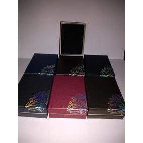 Cajas Para Conjuntos Joyas Cadenas Aros Y Anillo X Docena