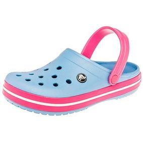 Crocs Crocband Azul Para Dama 100% Originales W77377