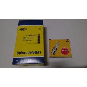 Jogo Velas E Cabos Renault Clio Logan Sandero Symbol 1.6 8v