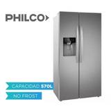 Heladera Philco Side By Side 570l Inox Phsb570xa