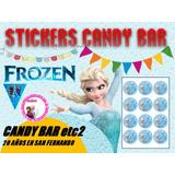 Stickers-etiquetas Princesa De Hielo- Candy Bar -mesa Dulce