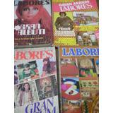 Lote X 4 Revistas Labores Antiguas Con Moldes Palermo Envios