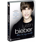 Dvd Justin Bieber This Is My World + Poster