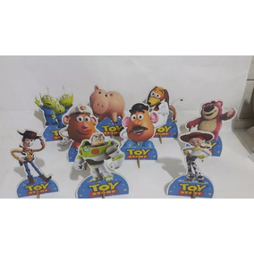 Toy Story 10 Display De Mesa Decorações Festa Infantil