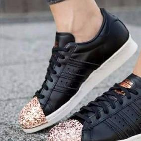 zapatillas adidas punta dorada