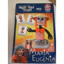 Boneca Maria Big Brother Brasil Tv Brinquedo Antigo Estrela