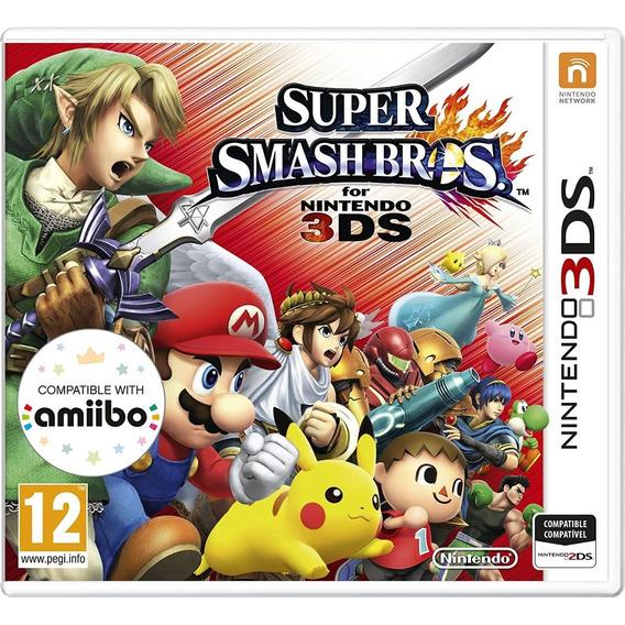 Super Smash Bros Nintendo 3ds Nuevo Original Fisico Sellado
