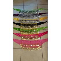 Lote De Liquidación 7 Pareos Danza Árabe Colores Surtidos