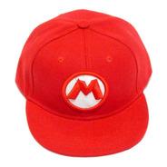 Gorra Snapback Super Mario Bros Niños Broche Envio Gratis