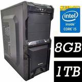 Pc Cpu Intel Core I5 + 8gb+ 1tb Promoção Limitadíssima
