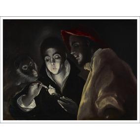 Lienzo, Tela, El Greco, Una Alegoría, 70x93cm