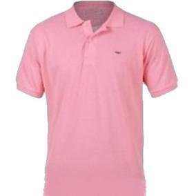 87d501fece483 Camisa Polo Luxo Piquet Masculina Social Rosa Bebê Cor