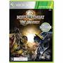 Mortal Kombat Vs Dc Universe Xbox 360 Lacrado + Brinde