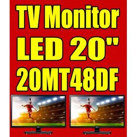 Tv Led Gamer Lg 20mt48df Digital Na Caixa Garantia 11/2017