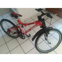 Bicicleta Bimex Rodada 26, 18veloc, Doble Suspension Nueva