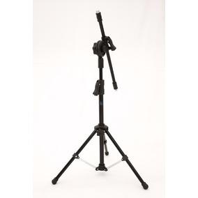 Pedestal P/ Microfone Preto Mini Girafa Visão Pe3mbk