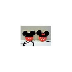 Cortante Mickey Grande Galletitas Fondant Porcelana Fria