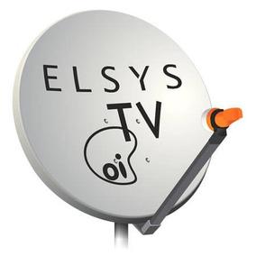 Antena De Chapa Oi Tv 60 Cm Banda Ku