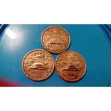 3 Monedas De 20 Centavos 1966/1969/1974