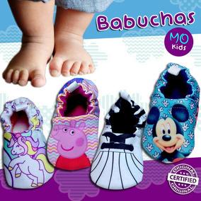 Zapatos Babuchas Para Bebe De Tela Mo Kids Calidad&diseño
