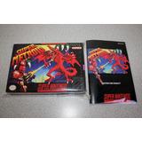 Caja Custom Y Manual Custom Para Super Metroid Snes