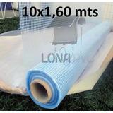 Lona Bobina Rolo Transparente Pvc 10x1,60 Mts Proteção Toldo