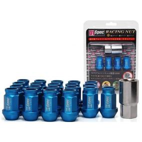 Lug Nuts De Seguridad D1 Spec Birlos Colores Aluminio