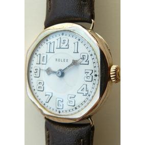 Reloj Rolex Militar Antiguo Oro Solido Suizo 15 Rubi Año1926
