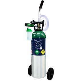 Kit Tanque De Oxigeno Portatil Handy 1699 Lts + Envio Gratis